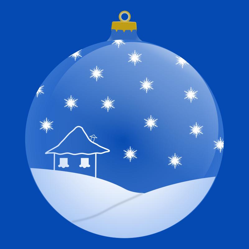 Free Palla di Natale
