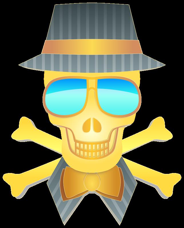 Free Dapper Skull
