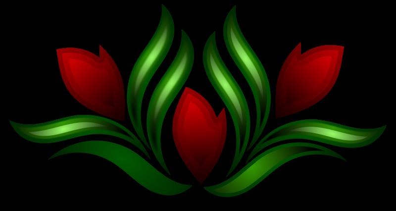 Free Wild Flower Motif