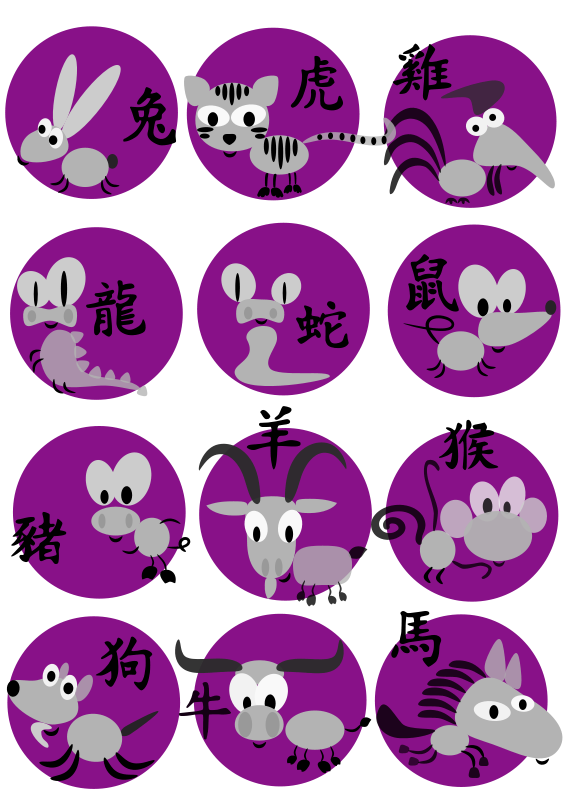 Free Chinese horoscope animals