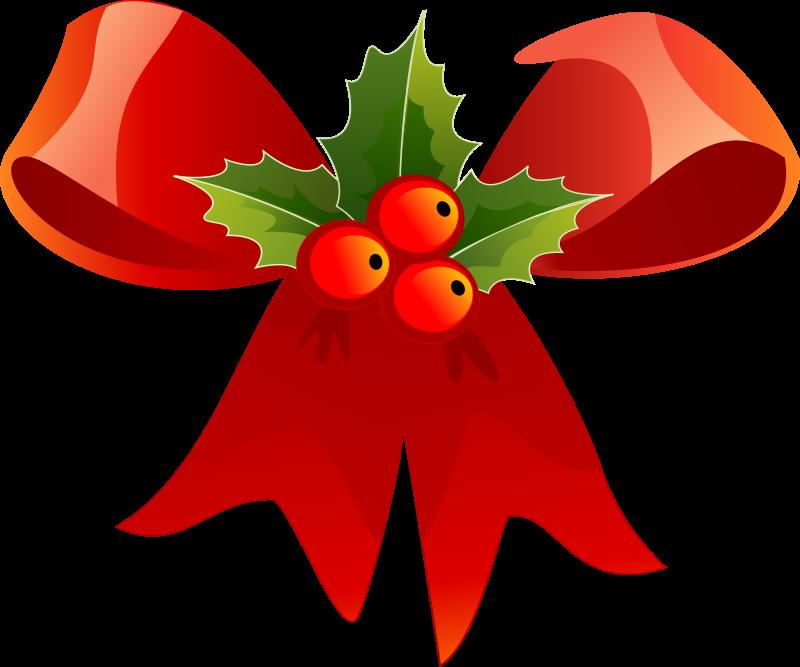 Free Christmas ribbon