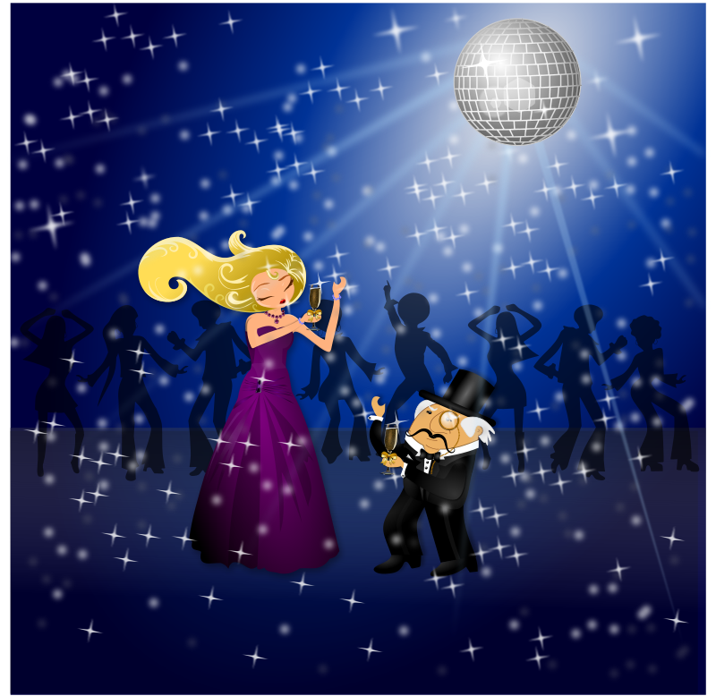 Free Clipart: Dancing Couple | Merlin2525