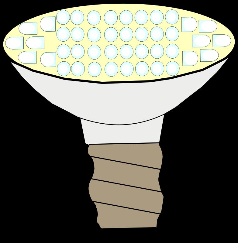 Free LED lightbulb