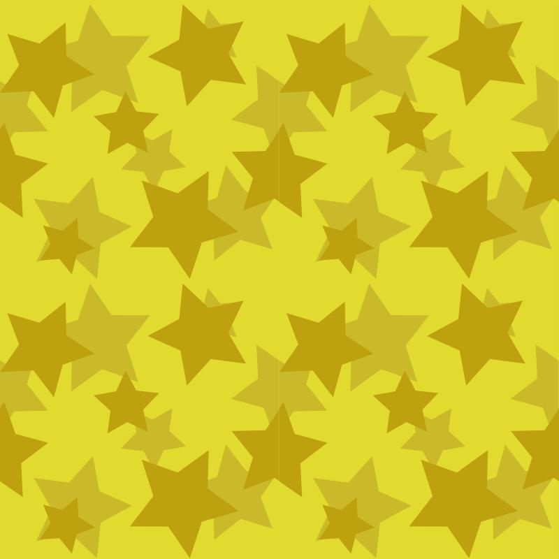 Free gold stars seamless pattern