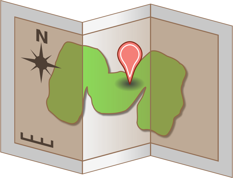 Free Map Icon
