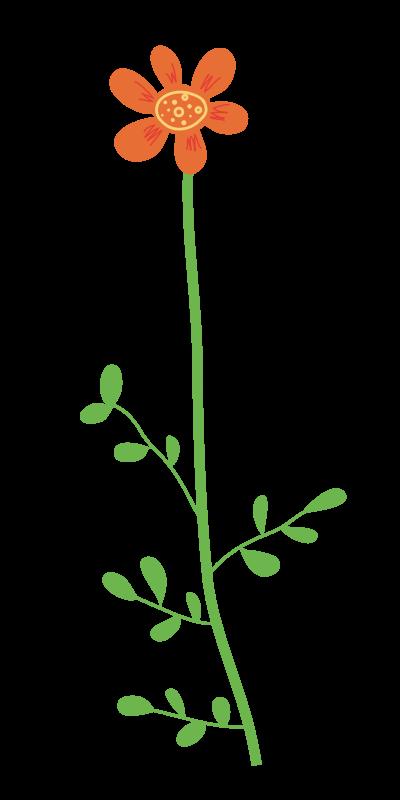 Free Wild Flower Clipart
