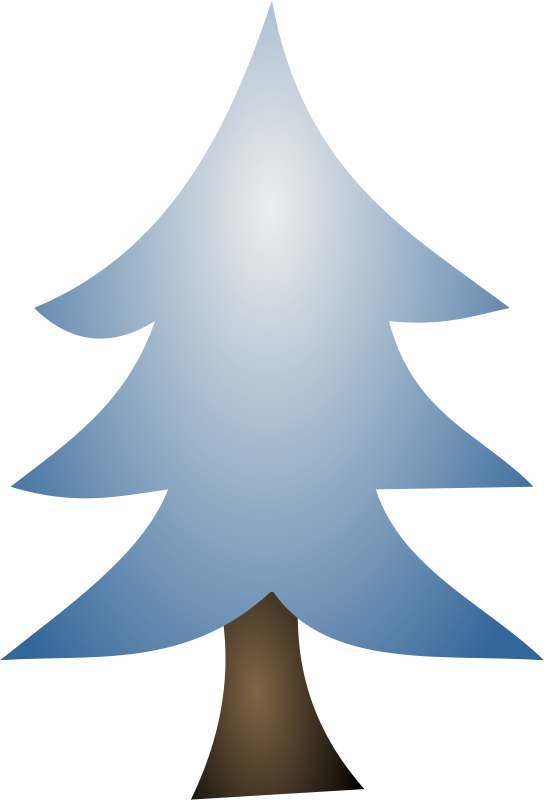 Free Clipart: Winter Tree 3 | Merlin2525