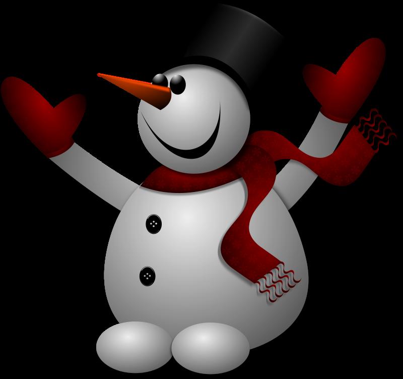 Free Happy Snowman 2