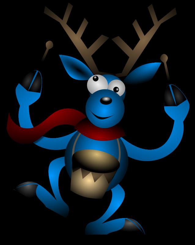 Free Dancing Reindeer 2