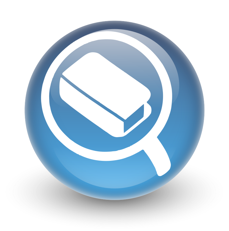 Free clipart glossy search icon for opac libberry stopboris Gallery