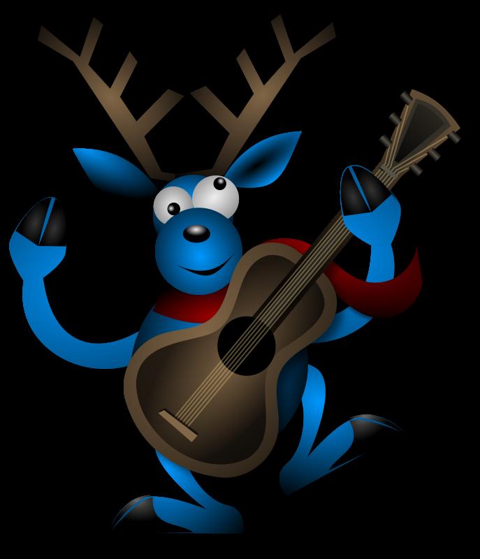 Free Dancing Reindeer 1