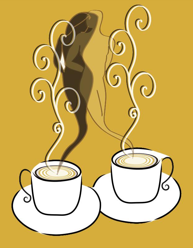 Free Clipart: Love coffee | presquesage