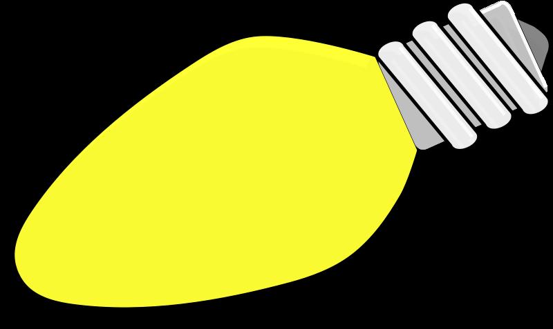 Free Christmas Lightbulb