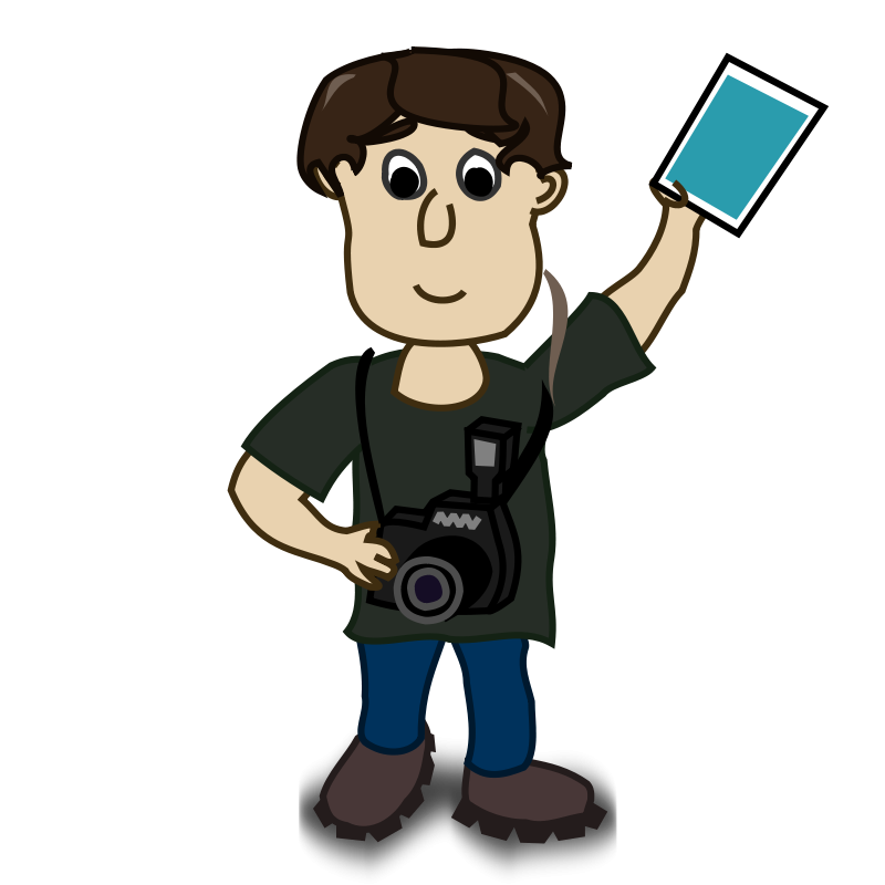 Free Clipart: Boy photographer | Fabuio