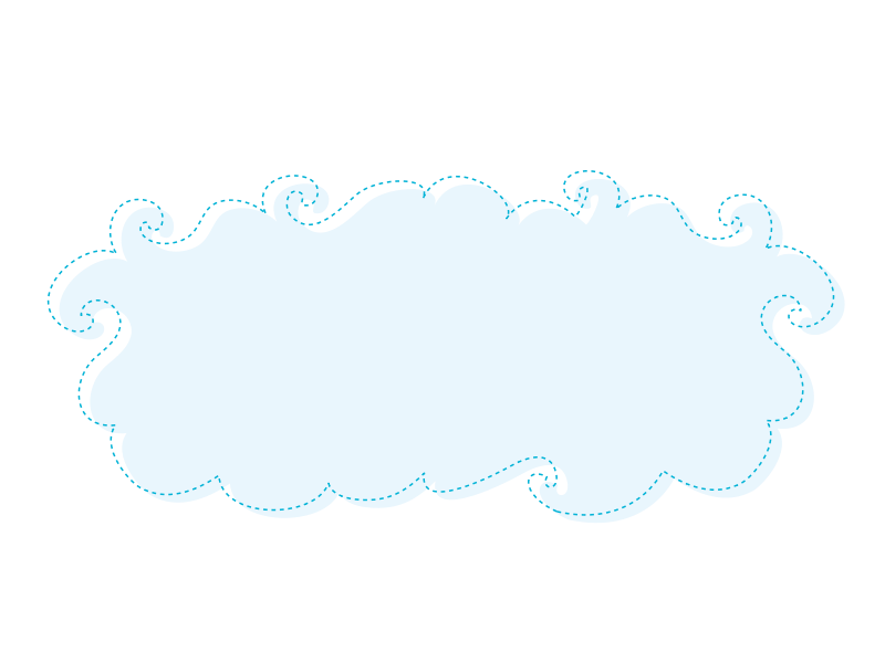Free Blue Clouds Clipart