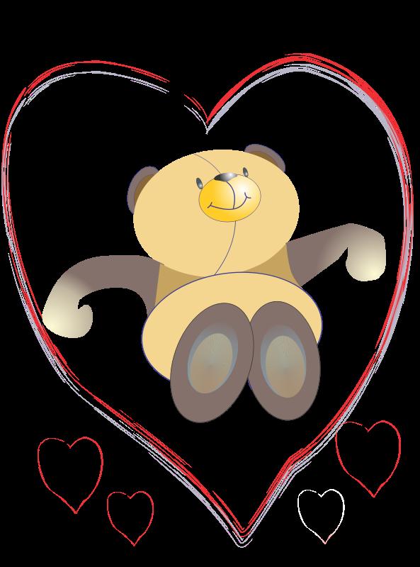 Free oso corazon