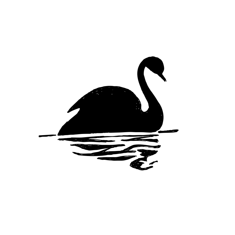 Free Black Swan Silhouette