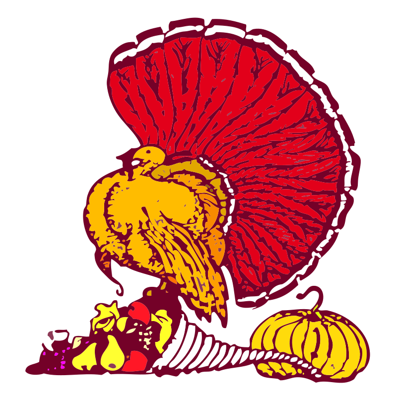 Free Thanksgiving turkey and harvest