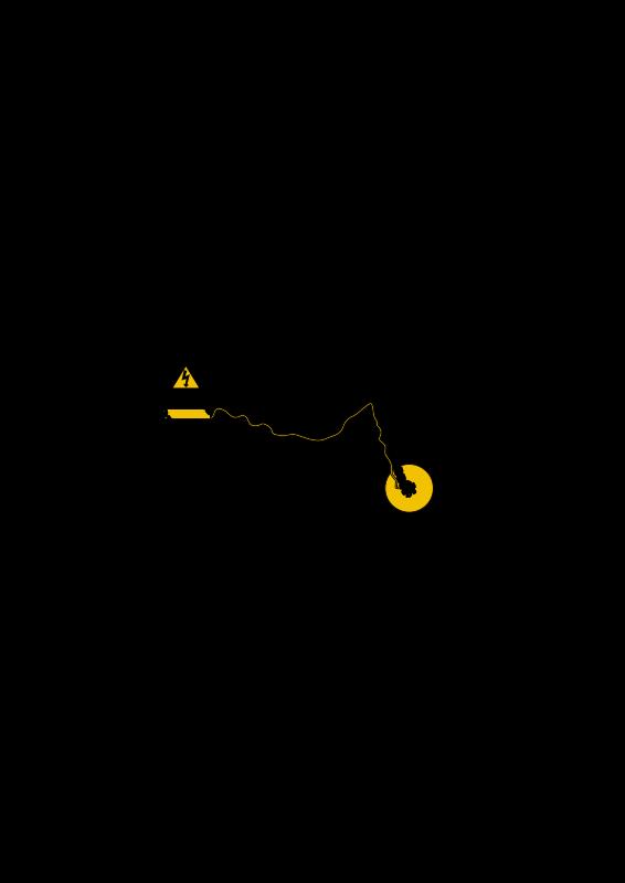 Free Modern recumbent electric bike silhouette