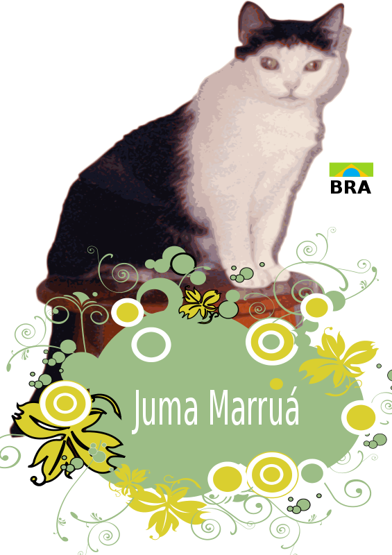 Free Juma Marruá with flowers