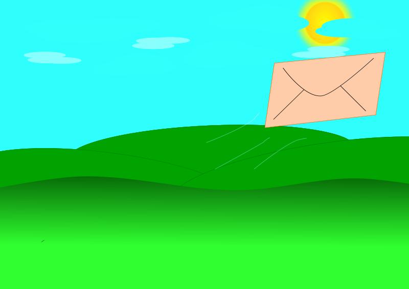 Free Flying Letter