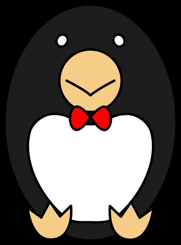 Free ranze penguin