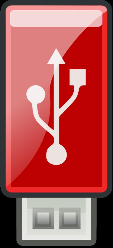 Free USB Red - Tango style