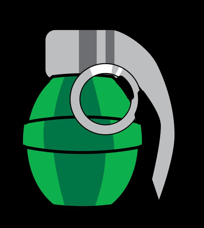 free clipart grenade jamiely rh 1001freedownloads com grenade clip art vector Grenade Vector