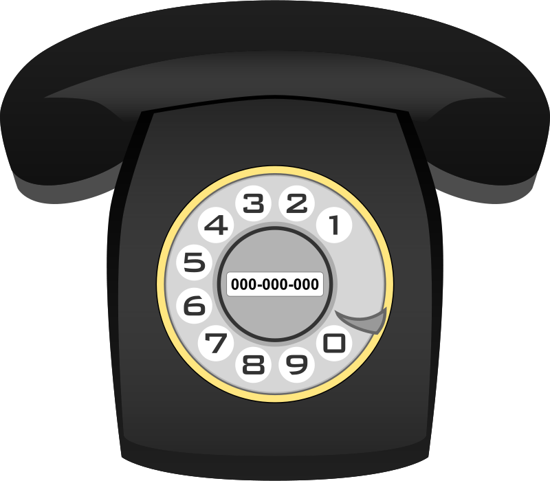 Free Teléfono Heraldo negro (black classic phone)