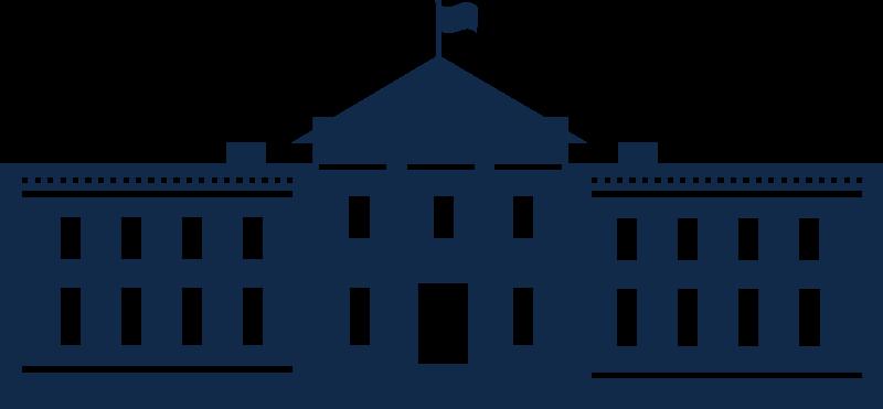 free clipart whitehouse silhouette karora