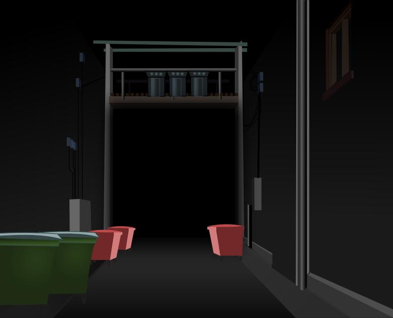 Free Dark Alley