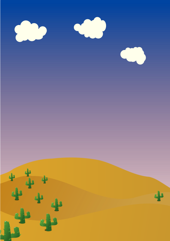 Free Desert background