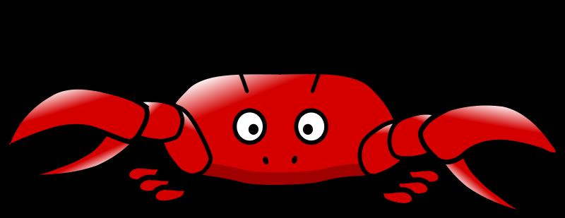 Free cartoon crab
