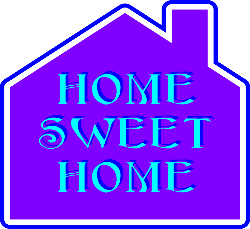 Free Clipart: Home Sweet Home 2 | bobby520