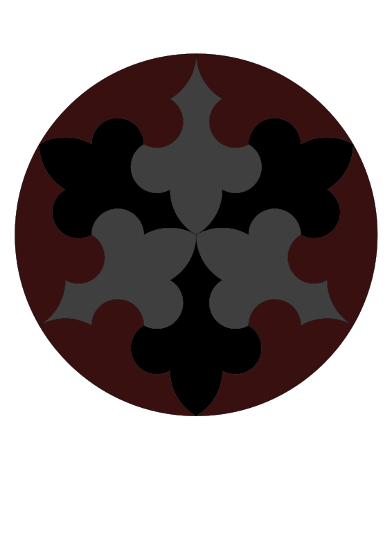 Free Radial  symmetry pattern