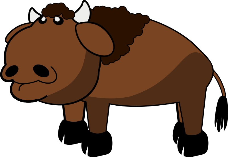 free clipart bison spacefem rh 1001freedownloads com bison clip art black and white bison clipart black and white