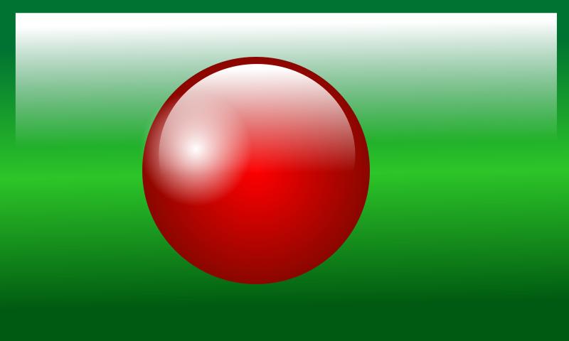 Free Glossy Bangladesh Flag II