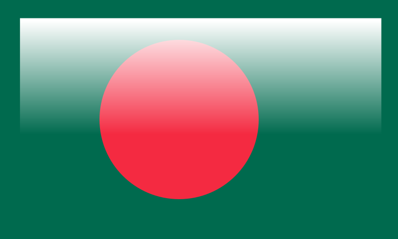Free Glossy Bangladesh Flag