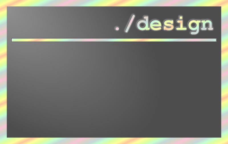 Free Dot Slash Design