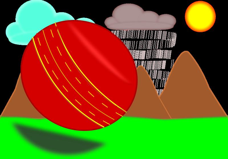 Free Sphere in Scenery