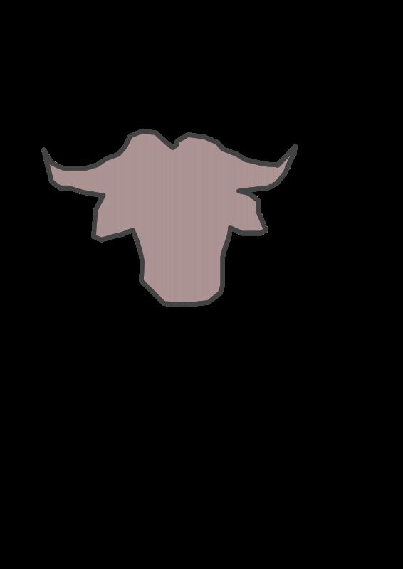 Free Clipart: Gnu-alpha-logo | cenobyte