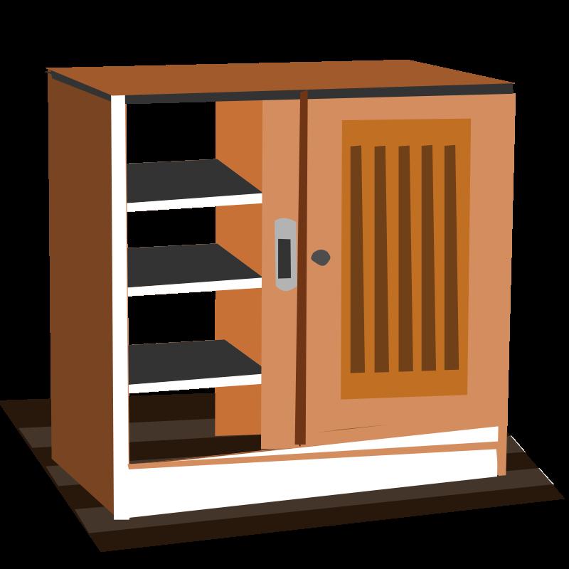 Cupboard clipart  Free Clipart: Cupboard | tribla