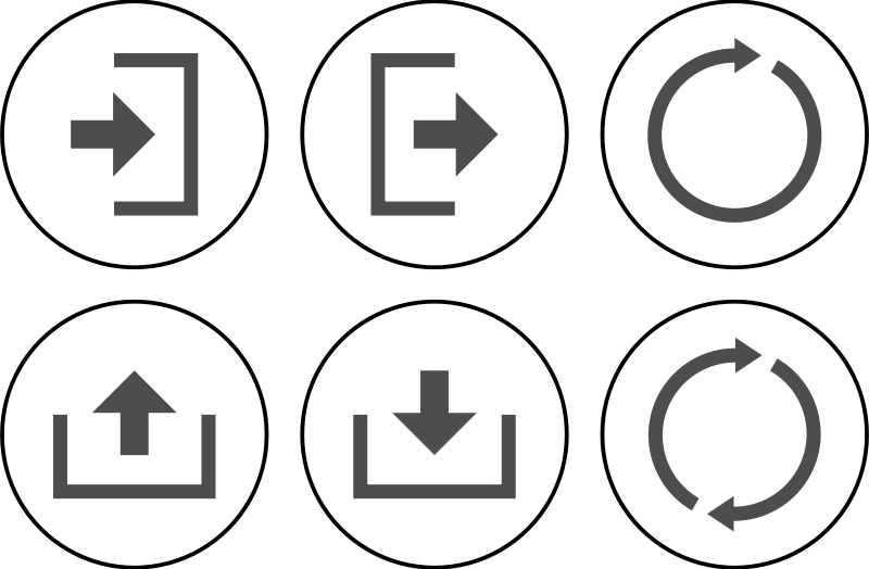 Free Icon Set Actions