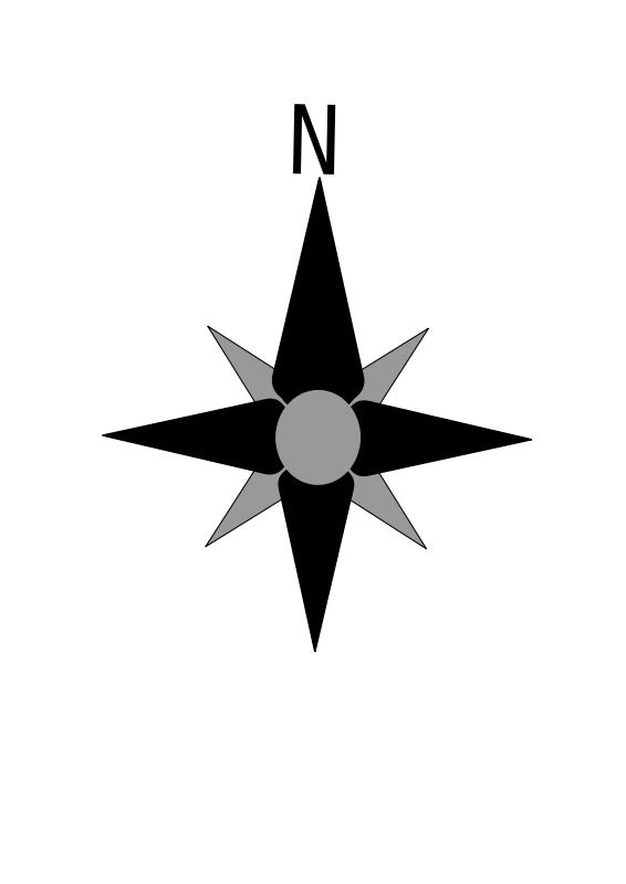 Free compass rose