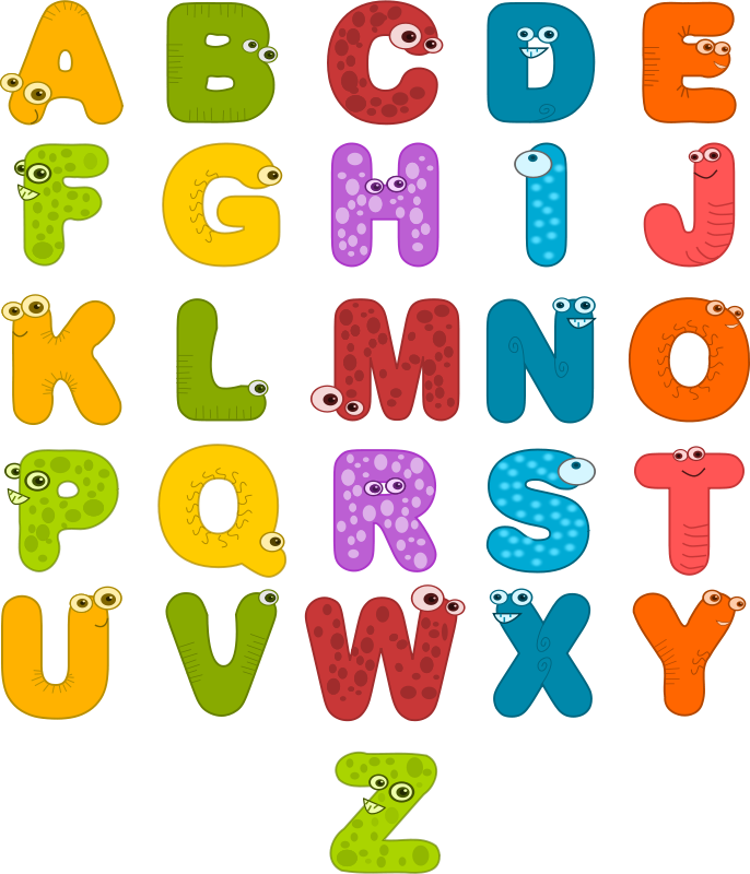 Free Animal Alphabets