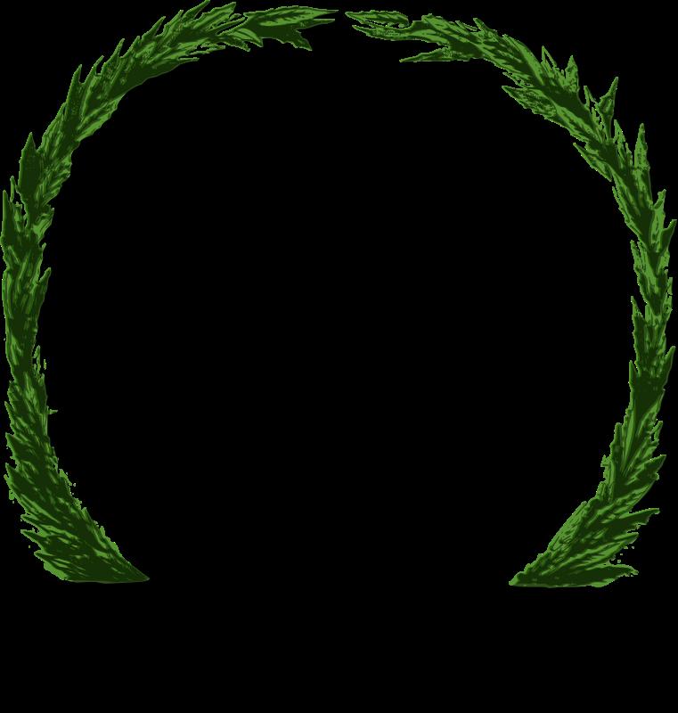 Free Peace Wreath (green)