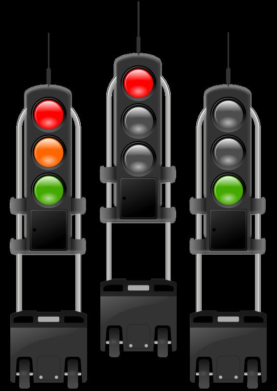 Free mobile traffic-lights threesome