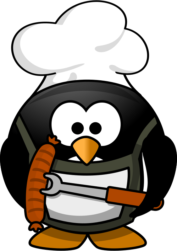 Free Grilling penguin