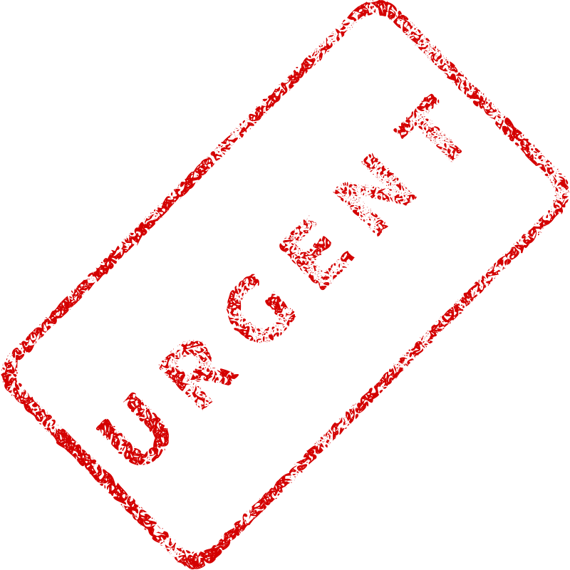 Free Urgent Business Stamp 2