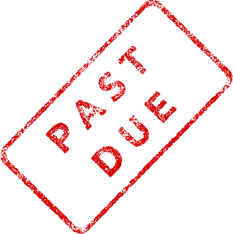 Free Past Due Business Stamp 2
